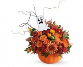 Teleflora's Spooky Surprise Bouquet in Bradenton FL, Tropical Interiors Florist