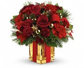 All Wrapped Up Bouquet by Teleflora in North York ON, Julies Floral & Gifts