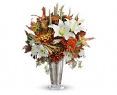 Teleflora's Harvest Splendor Bouquet in Burlington WI, gia bella Flowers and Gifts