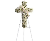 Divine Light Cross in Charleston SC, Tiger Lily Florist Inc.