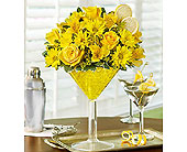 Lemon Martini Bouquet� in Richmond VA, Flowerama