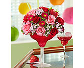Strawberry Floral Margarita� in Richmond VA, Flowerama