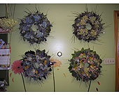 Dried Wreaths with Mixed Colors in Somerset, Pennsylvania, Somerset Floral