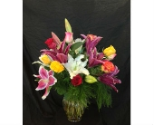 *WEEKLY SPECIAL* Assorted Lilies & Roses  in Dallas TX, Z's Florist