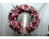 Pink Wreath in San Diego CA, Flowers Of Point Loma