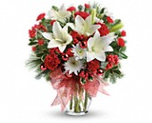 Merry All The Way Bouquet in East Amherst NY, American Beauty Florists