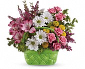 Teleflora's Basket Of Beauty Bouquet in New Britain CT, Weber's Nursery & Florist, Inc.