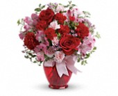 Teleflora's Blissfully Yours Bouquet in Rush NY, Chase's Greenhouse