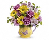 Teleflora's Butterfly Serenity Bouquet in New Britain CT, Weber's Nursery & Florist, Inc.