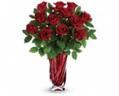 Teleflora's Red Radiance Bouquet in Campbell River BC, Campbell River Florist