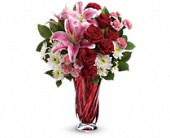 Teleflora's Swirling Beauty Bouquet in Houston TX, Cornelius Florist