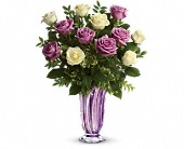 Teleflora's Wrapped In Lavender Bouquet