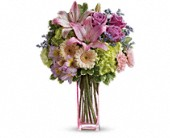 Teleflora's Artfully Yours Bouquet in Fredericton NB, Flowers for Canada
