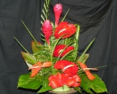 Tropical Arrangment in Mililani Town HI, Mililani Town Florist