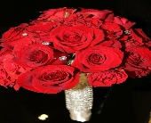 All Red Roses  in Corona, California, AAA Florist