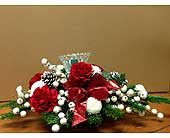 Classic Christmas Centerpiece 3 in Sarnia ON, Mc Kellars Flowers