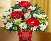 Christmas Greetings in Round Rock TX, Heart & Home Flowers