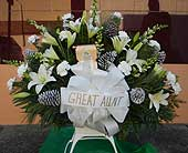 Fresh Funeral Basket in Portsmouth OH, Kirby's Flowers