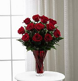 The FTD In Love with Red Roses Bouquet in Highlands Ranch CO, TD Florist Designs