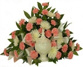 Timeless Cremation Setting Pink in Indianapolis IN, Steve's Flowers & Gifts
