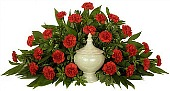 Timeless Cremation Setting Red in Indianapolis IN, Steve's Flowers & Gifts
