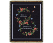 Until We Meet Again Tapestry Throw in Johnstown PA, Schrader's Florist & Greenhouse, Inc