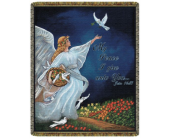 John 14:27 Tapestry Throw in Johnstown PA, Schrader's Florist & Greenhouse, Inc