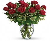 Simply roses in a vase in Methuen MA, Martins Flowers & Gifts