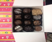 12 piece chocolate box in Sitka AK, Bev's Flowers & Gifts