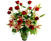 Roses and Lilies in Little Rock AR, Tipton & Hurst, Inc.