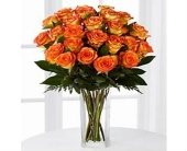 24 Orange Roses in Smyrna GA, Floral Creations Florist