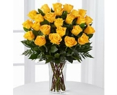 24 Yellow Roses in Smyrna GA, Floral Creations Florist