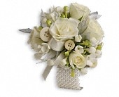 All Buttoned Up Corsage in Etobicoke ON, Elford Floral Design