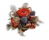 Boho Dreams Corsage in Longview TX, Casa Flora Flower Shop