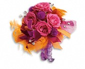 Dance 'til Dawn Corsage in Orlando FL, Elite Floral & Gift Shoppe