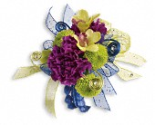 Evening Electric Corsage in Orlando FL, Elite Floral & Gift Shoppe