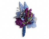 Feel The Beat Boutonniere in Vicksburg MS, Helen's Florist