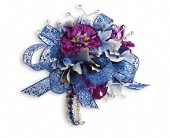 Feel The Beat Corsage in Waldron AR, Ebie's Giftbox & Flowers
