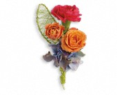 You Glow Boutonniere in Johnstown NY, Studio Herbage Florist