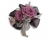 Roses And Ribbons Corsage in Orlando FL, Elite Floral & Gift Shoppe