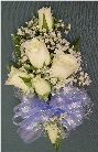 White Rose Corsage in Kennett Square PA, Barber's Florist Of Kennett Square