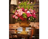 Urn Arrangement in Seattle WA, Topper's European Floral Design