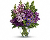 Lavender Charm Bouquet in Watertown NY, Sherwood Florist