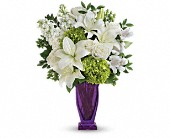 Teleflora's Moments Of Majesty Bouquet in Ste-Foy QC, Fleuriste La Pousse Verte
