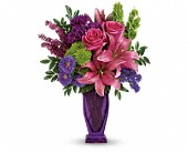 You're A Gem Bouquet by Teleflora in Ormond Beach FL, Simply Roses