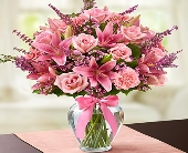 Expressions of Pink in Round Rock TX, Heart & Home Flowers
