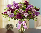 Shades of Purple in Round Rock TX, Heart & Home Flowers