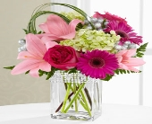 The FTD� Blooming Bliss� Bouquet - VASE INCLUDED in Highlands Ranch CO, TD Florist Designs