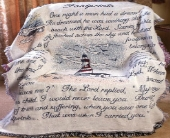 Footprints - Lighthouse Afghan in Troy, Ohio, Trojan Florist & Gifts