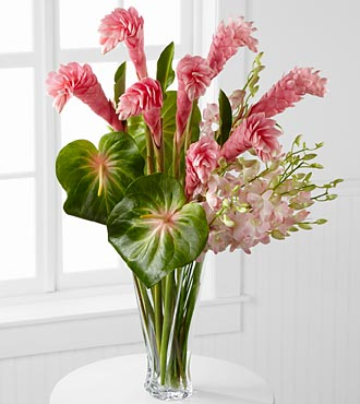 Alluring Luxury Orchid & Ginger Bouquet - 26 Stems in Highlands Ranch CO, TD Florist Designs